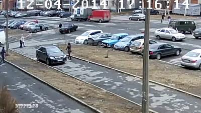 Автомобиль сбил велосипедиста