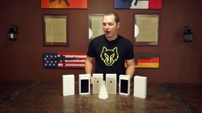 iPhone 6 Plus vs Liquid Nitrogen