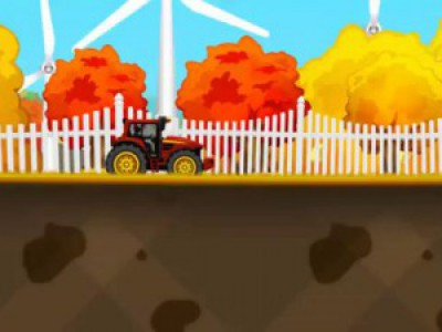 Мультики про машинки. Смотреть мультик про трактор. Мультфильм для малышей про гонки на тракторе