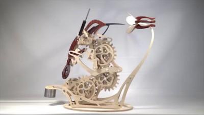Colibri: an organic motion sculpture