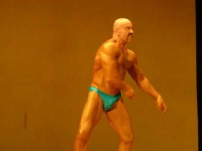 Выступление 72 летнего спортсмена