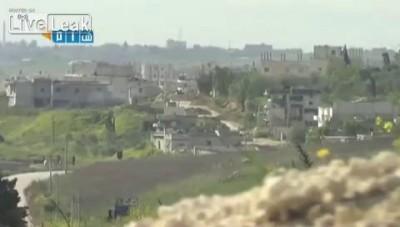 Сирийские танкисты-бравые ребята