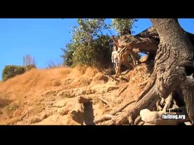 Неудача при прыжке с дерева