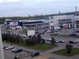 Триллер.Ужасная пробка в Челябинске-ll.Обратно.