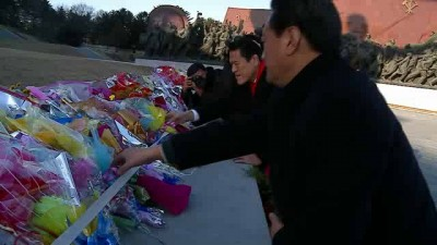 Визит бывшего японского рестлера в КНДР