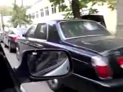 Автомобили простых смертных на Рублевке