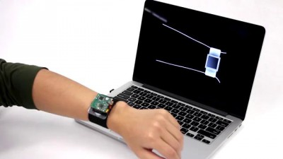 SkinTrack: Using the Body as an Electrical Waveguide for Continuous Finger Tracking on the Skin