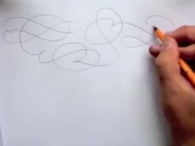 Мастер каллиграфического почерка Seb Lester