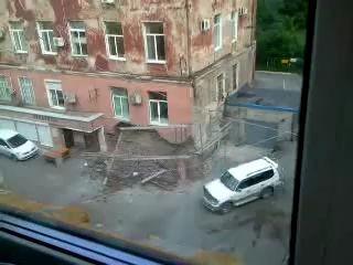Рухнул жилой дом во Владивостоке