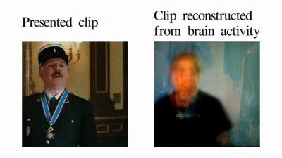 Reconstruction from brain activity