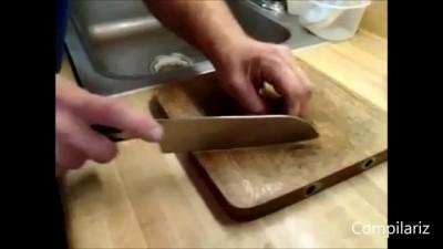 Навыки профессионального пользования кухонным нож