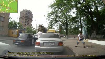 Наказал мусорщика