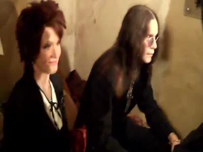 Ozzy шутит в музее мадам Тюссо