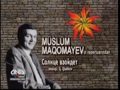 "ANS-in ""Bizimkiler"" layihesi - M. Maqomayevin ""Солнце взойдет"" mahnısı (ANS-Fan"