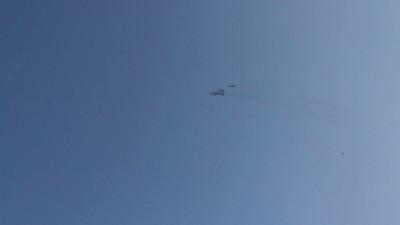 Самолеты над Сушкинской