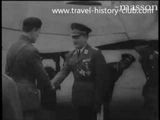 Гитлер в Финляндии.04.06.42