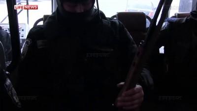 """Беркут"""" вышел на баррикады поддержать жителей Славянска"""