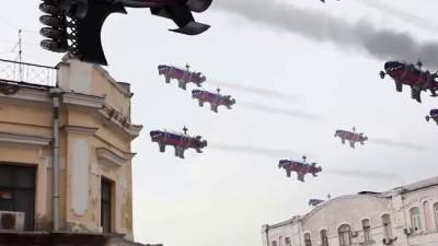 Переброска российских войск на украину / Soviet Russia sends military force in Ukraine