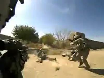US Troops Ambushed in Afghanistan (Helmet CAM)