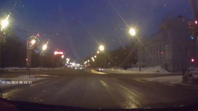 Драка на дороге. Казань