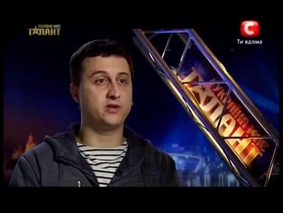 Анатолий Гернаденко - Україна має талант-5 Киев [13.04.2013]