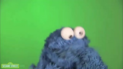 Cookie Monster Eating Cookie