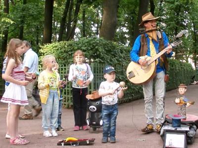 Молодые таланты в Летнем саду