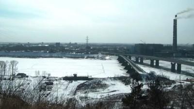Взрыв льда в Кемерово 23-03-12