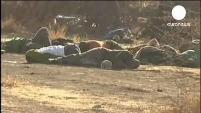 Полиция ЮАР расстреливает демонстрантов