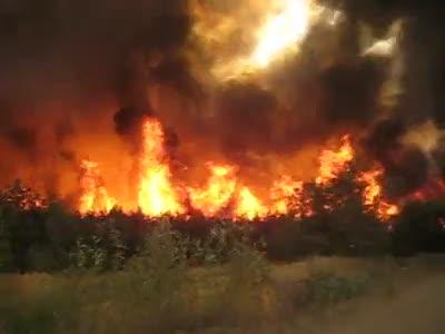 Voronezh fire
