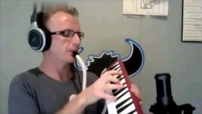 Хиты 90х (духовая мелодика)   Melodica potpourri 90