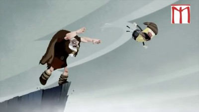 Прикольный мультфильм про викинга и рай