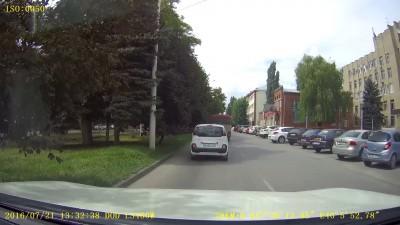 Нарушение ПДД в Новочеркасске
