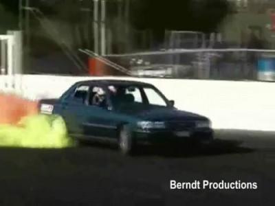 Kumho Coloured Tyre 2JZ Cressida Burnout