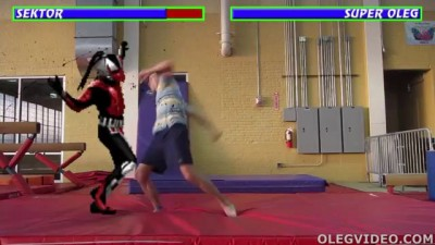 Mortal Kombat in Real Life: Sektor vs SuperOleg