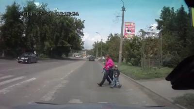 Благодарный пешеход