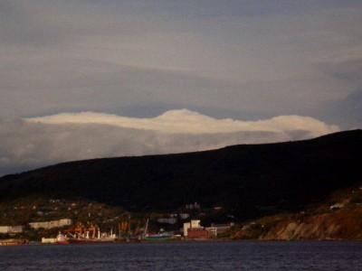 Петропавловск-Камчатский со стороны моря