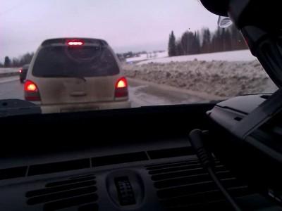 Жесть на дороге(смотреть со 2-ой минуты)