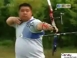 лучник - стрела в стрелу