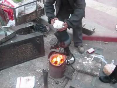 Amazing popcorn cannon