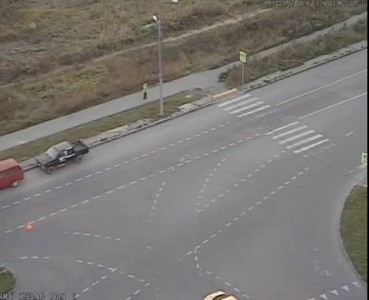 Зеленоград. Авария Логвиненко - Михайловка. Такси - мотоциклист.