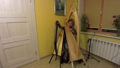 Yann Tiersen - La Valse D'Amelie (two harps)