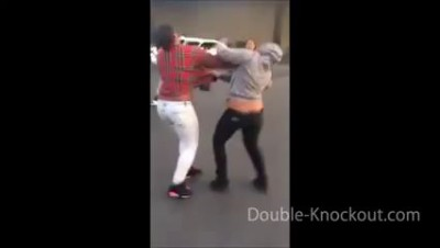 Knockout&Best hood girl fight