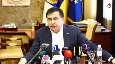 Саакашвили говорит по-украински