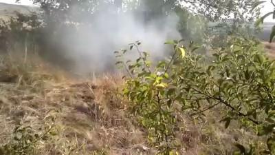 Ополченцы ведут огонь из ПТУР