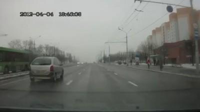 ГАИ на BMW GT в Минске