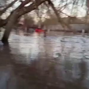 Наводнение в Казахстане