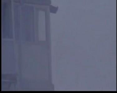 26.02.2012. г. Строитель, взрыв газового баллона. Видео 1