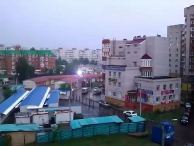 Шаровая молния в г. Воронеж 16.06.2012