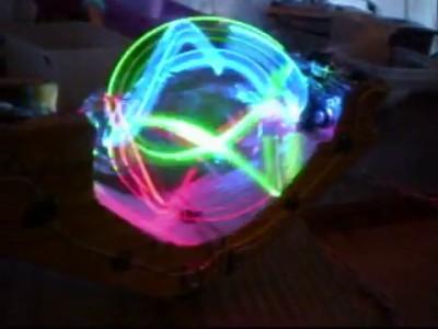 Вращающийся RGB LED шар